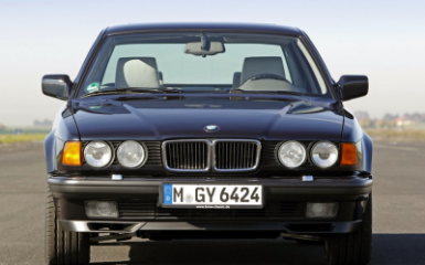 Предохранители и реле BMW E32, 1987 - 1994
