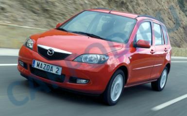 Предохранители Mazda 2 / Demio (DY), 2003 - 2007