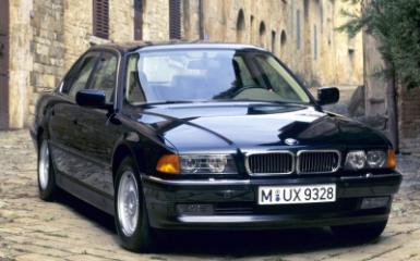 Предохранители и реле BMW 7 E38, 1994 - 2001