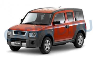 Предохранители и реле Honda Element (YH1, YH2), 2003 - 2011