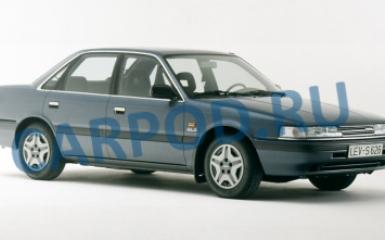 Предохранители и реле Mazda 626 (GD), 1987 - 1991