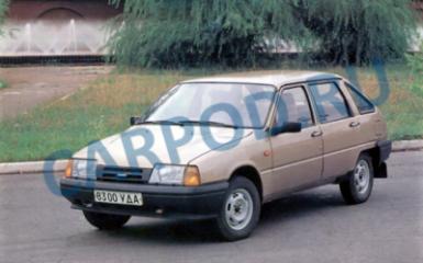 Предохранители и реле ИЖ 2126 Ода, 1990 - 2005