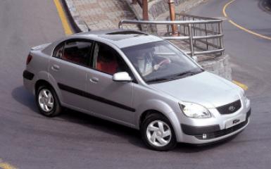 Предохранители и реле Kia Rio 2 (JB), 2005 - 2011
