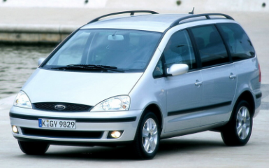 Предохранители и реле Ford Galaxy (WGR), 1995 - 2006
