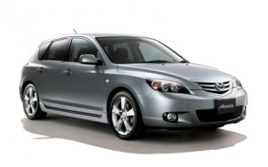 Предохранители и реле Mazda Axela (BK), 2003 - 2009