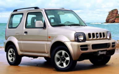 Предохранители и реле Suzuki Jimny (JB43), 1998 - 2012