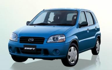 Предохранители и реле Suzuki Swift, 2000 - 2004