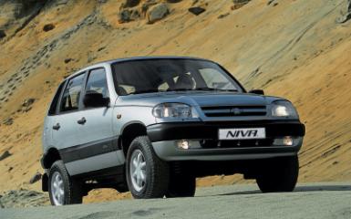 Предохранители и реле Chevrolet Niva (21236), 1998 - 2009