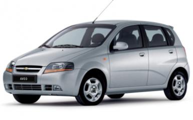 Предохранители и реле Chevrolet Aveo T200/T250, 2002 - 2011