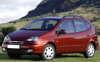 Предохранители и реле Chevrolet Rezzo (KLAU), 2000 - 2008