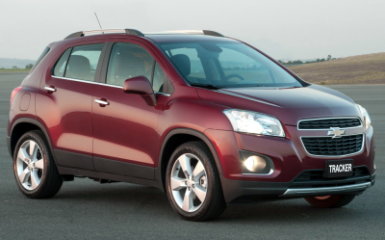 Предохранители и реле Chevrolet Tracker 3, 2013 - 2018