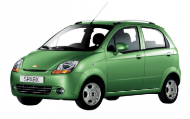 Предохранители и реле Chevrolet Spark (M200), 2005 - 2006