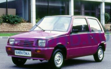 Предохранители и реле Лада Ока (1111), 1989 - 2008