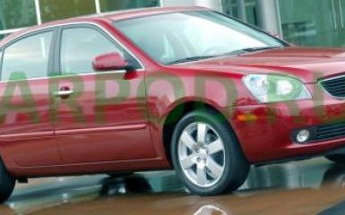 Предохранители и реле Kia Optima 2 (MG), 2005 - 2010