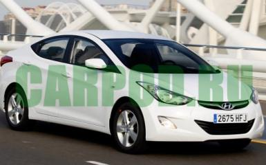 Предохранители Hyundai Elantra 5 (MD), 2010 - 2016