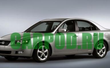 Предохранители и реле Hyundai Sonata NF, 2004 - 2010