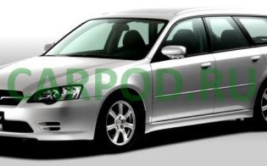 Предохранители и реле Subaru Legacy (BL/BP), 2003 - 2009