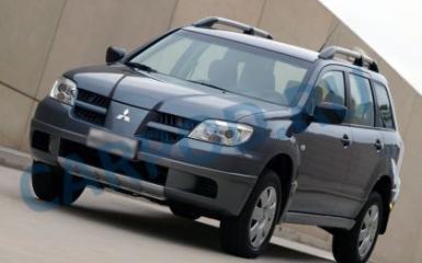Предохранители и реле Mitsubishi Outlander I, 2002 - 2009