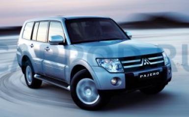 Предохранители и реле Mitsubishi Pajero 4, 2006 - 2015