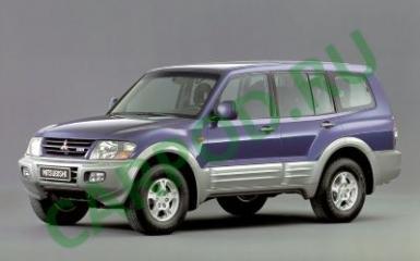 Предохранители и реле Mitsubishi Pajero / Montero 3, 1999 - 2006