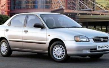 Предохранители и реле Suzuki Baleno, 1995 - 2002