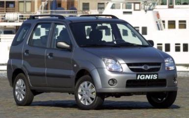 Предохранители и реле Suzuki Ignis, 2003 - 2008