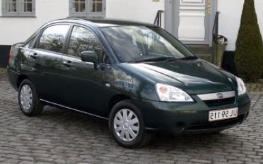 Предохранители и реле Suzuki Liana, 2001 - 2008