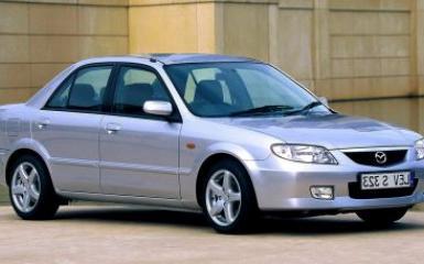 Предохранители и реле Mazda 323 (BJ), 1998 - 2004