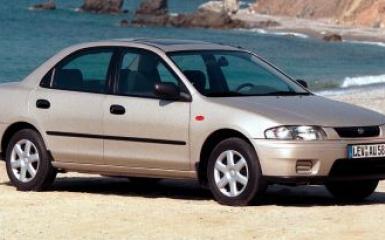 Предохранители и реле Mazda 323 (BA), 1994 - 1998