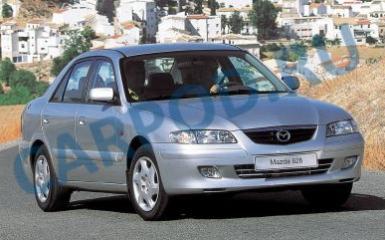 Предохранители и реле Mazda 626 (GF), 1997 - 2003
