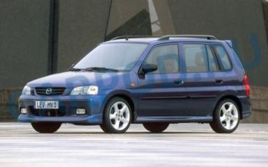 Предохранители и реле Mazda Demio DW, 1996 - 2002