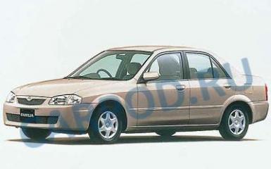 Предохранители и реле Mazda Familia (BJ), 1997 - 2003