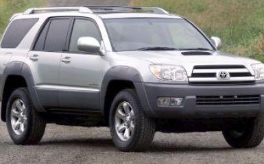 Предохранители и реле Toyota 4Runner (N210), 2002 - 2009