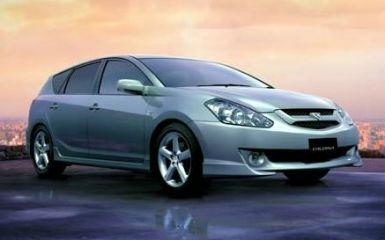 Предохранители и реле Toyota Caldina (T240), 2002 - 2007