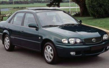 Предохранители Toyota Corolla (Е110), 1997 - 2002