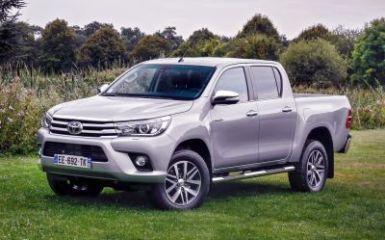 Предохранители и реле Toyota Hilux (AN120), 2015 - 2020