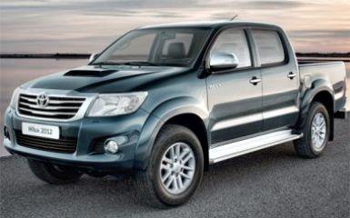 Предохранители Toyota Hilux 7, 2005 - 2015