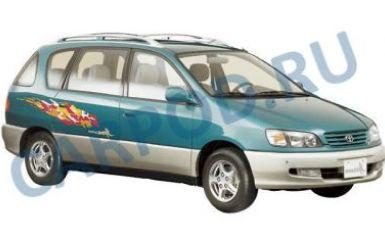 Предохранители и реле Toyota Ipsum (SXM10), 1996 - 2001
