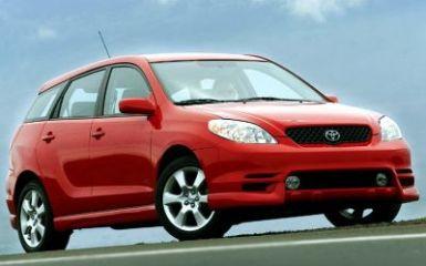 Предохранители Toyota Matrix (E130), 2002 - 2007