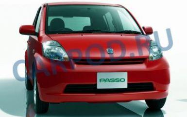 Предохранители и реле Toyota Passo (XC10), 2004 - 2010