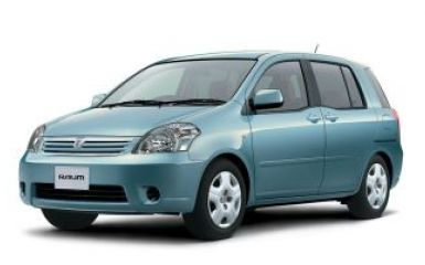 Предохранители и реле Toyota Raum (Z20), 2003 - 2011