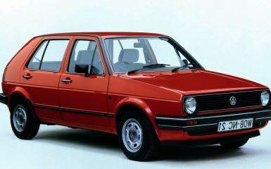 Предохранители и реле Volkswagen Golf 2 (Mk2), 1983 - 1991