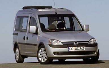 Предохранители и реле Opel Combo C, 2001 - 2011