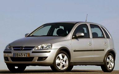 Предохранители и реле Opel Corsa C, 2000 - 2006