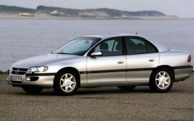 Предохранители и реле Opel Omega B, 1994 - 2003