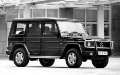 Предохранители и реле Mercedes Gelandewagen (W463), 1989 - 2006