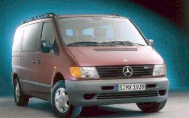 Предохранители и реле Mercedes Vito (W638), 1996 - 2003