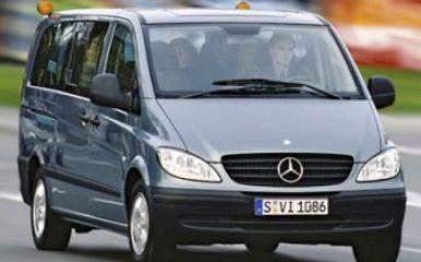 Предохранители и реле Mercedes Vito (W639), 2003 - 2010