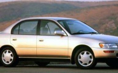 Предохранители и реле Toyota Corolla (E100), 1991 - 2000