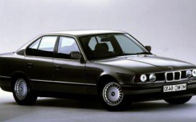 Предохранители и реле BMW E34, 1987 - 1995
